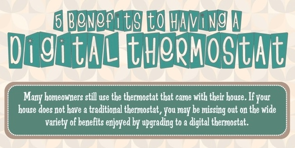 5 Benefits to a Digital Thermostat