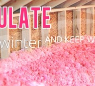 Insulate this winter
