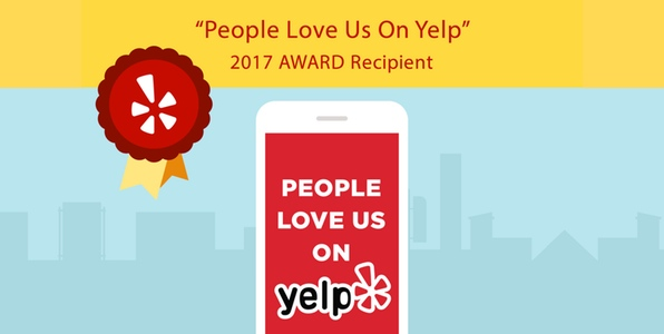 2017 People Love Us On Yelp Award