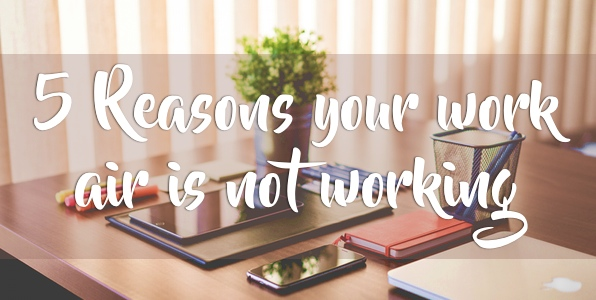5 Reasons Your Work AC is Not Working